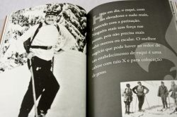 Diagramação do livro Hemingway.